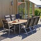 Hillerstorp Grupp Nydala 200/280x96cm (inkl. 6st Positionsfåtöljer)