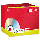 Imation CD-RW 700MB 10x 10-pack Jewelcase