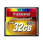 Transcend Compact Flash 600x 32GB