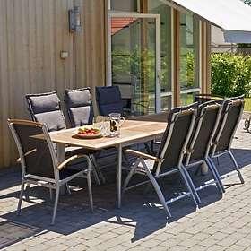 Hillerstorp Grupp Nydala 200/280x96cm (inkl. 6st Positionsstolar)