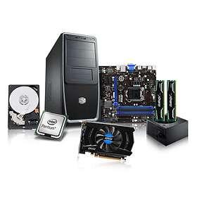 Komplett PC i delar Intel Entry Gamer - 3,0GHz DC 4GB 500GB DVD±RW