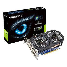 Gigabyte GeForce GTX 750 Ti OC 2xHDMI 2xDVI 2GB