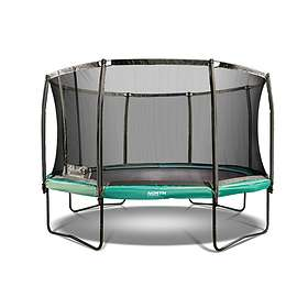 North Trampoline Challenger With Enclosure 430cm