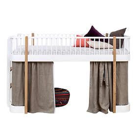 Oliver Furniture Wood Halvhög Loftsäng