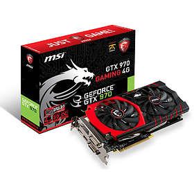 MSI GeForce GTX 970 Gaming HDMI DP 2xDVI 4GB