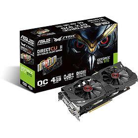 Asus GeForce GTX 970 Strix DirectCU II OC HDMI DP 2xDVI 4GB