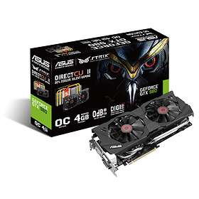 Asus GeForce GTX 980 Strix DirectCU II OC HDMI 3xDP 4GB
