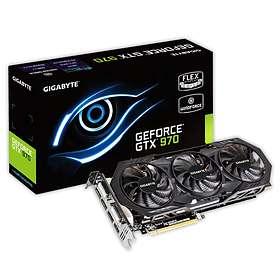 Gigabyte GeForce GTX 970 Windforce 3X OC HDMI 3xDP 2xDVI 4GB