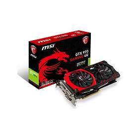 MSI GeForce GTX 970 Gaming LE HDMI DP 2xDVI 4GB