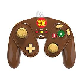 PDP Wii U Fight Pad Controller - Donkey Kong Edition (Wii U)