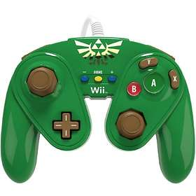 PDP Wii U Fight Pad Controller - Link Edition (Wii U)