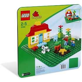 LEGO Duplo 2304 Stor Grön Byggplatta