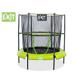 Exit Bounzy Mini Trampoline With Enclosure 140cm