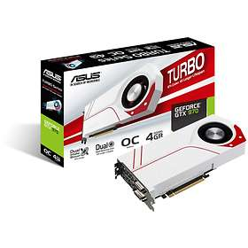 Asus GeForce GTX 970 Turbo OC HDMI DP 2xDVI 4GB