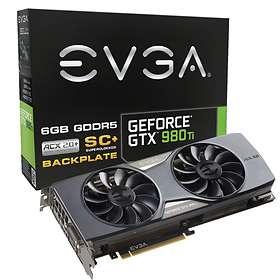 EVGA GeForce GTX 980 Ti SC+ ACX 2.0+ HDMI 3xDP 6GB