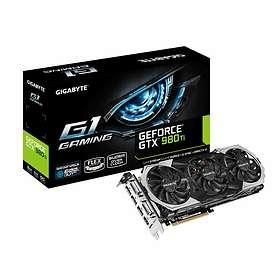 Gigabyte GeForce GTX 980 Ti G1 Gaming HDMI 3xDP 2xDVI 6GB