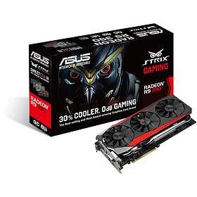 Asus Radeon R9 390 Strix Gaming DirectCU III OC HDMI 3xDP 8GB