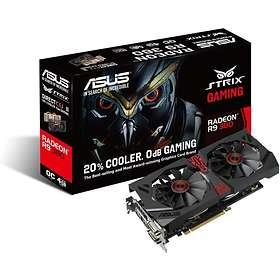 Asus Radeon R9 380 Strix Gaming DirectCU II OC HDMI DP 2xDVI 4GB