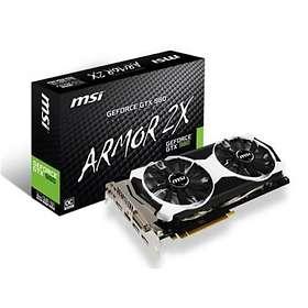 MSI GeForce GTX 980 OC Armor 2X HDMI 3xDP 4GB