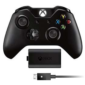 Microsoft Xbox One Wireless Controller V2 + Play & Charge (Xbox One) (Original)