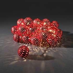 Konstsmide 3156 Ljusslinga Metallbollar 24 LED (6m)