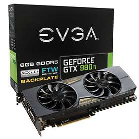 EVGA GeForce GTX 980 Ti FTW ACX 2.0+ HDMI 3xDP 6GB