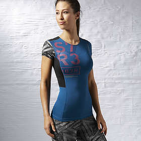 Reebok One Series Compression Tee (Dam)