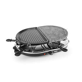 Princess Raclette 8 Oval Stone & Grill Party P-162710