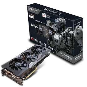 Sapphire Radeon R9 Fury Nitro Backplate OC HDMI 3xDP 4GB