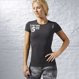Reebok One Series Quick Cotton Compression SS Tee (Dam)
