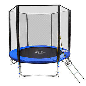 TecTake Outdoor Trampoline With Enclosure 244cm