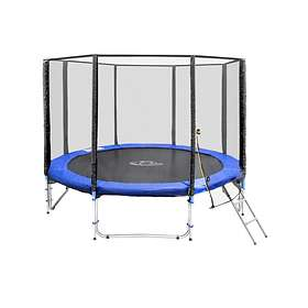 TecTake Outdoor Trampoline With Enclosure 305cm