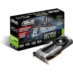 Asus GeForce GTX 1080 Founders Edition HDMI 3xDP 8GB