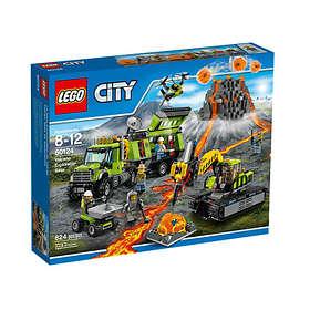 LEGO City 60124 Vulkan - Forskningsbas