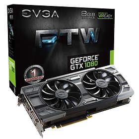 EVGA GeForce GTX 1080 FTW Gaming ACX 3.0 HDMI 3xDP 8GB