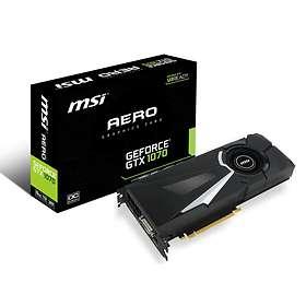 MSI GeForce GTX 1070 Aero OC HDMI 3xDP 8GB