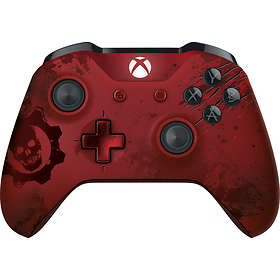 Microsoft Xbox One Controller - GoW 4 Crimson Omen Limited Edition (Xbox One)