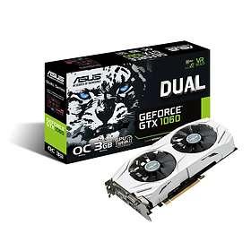 Asus GeForce GTX 1060 Dual OC 2xHDMI 2xDP 3GB