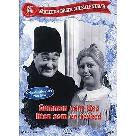 Teskedsgumman sv/vitt  Julkalender