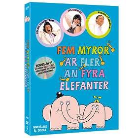 Fem Myror Är Fler Än Fyra Elefanter - Box