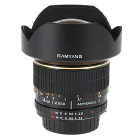 Samyang MF 14/2,8 ED AS IF UMC for Canon