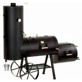 Joe's Barbeque Smoker Barbeque & Grill Modell - Chuckwagon 16 Silver