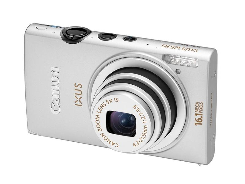 Canon Digital IXUS 125 HS - Digital compact camera - Lowest price ...