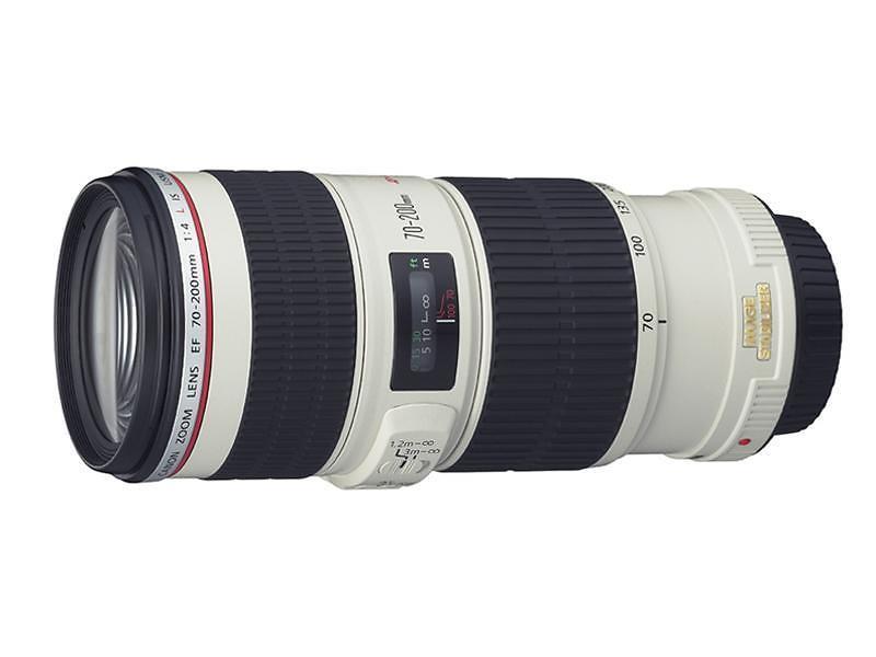 Canon EF 70-200/4,0 L IS USM - Objektiv - Hitta l�gsta pris, test ...