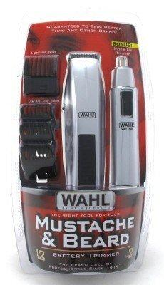 wahl 5537 420 trimmer moustache beard 12 pieces price comparison find the best deals on pricespy. Black Bedroom Furniture Sets. Home Design Ideas