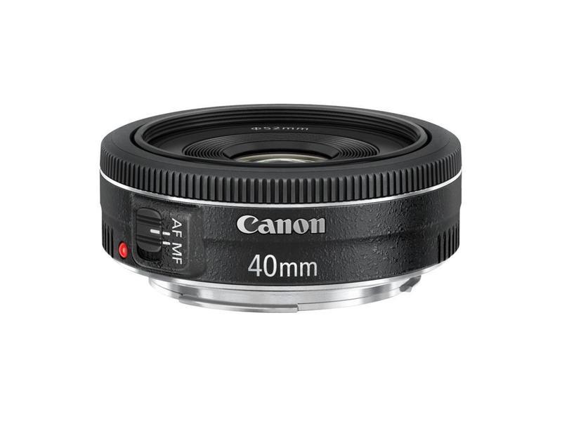 Canon EF 40/2,8 STM - Objektiv - Hitta l�gsta pris, test och specs