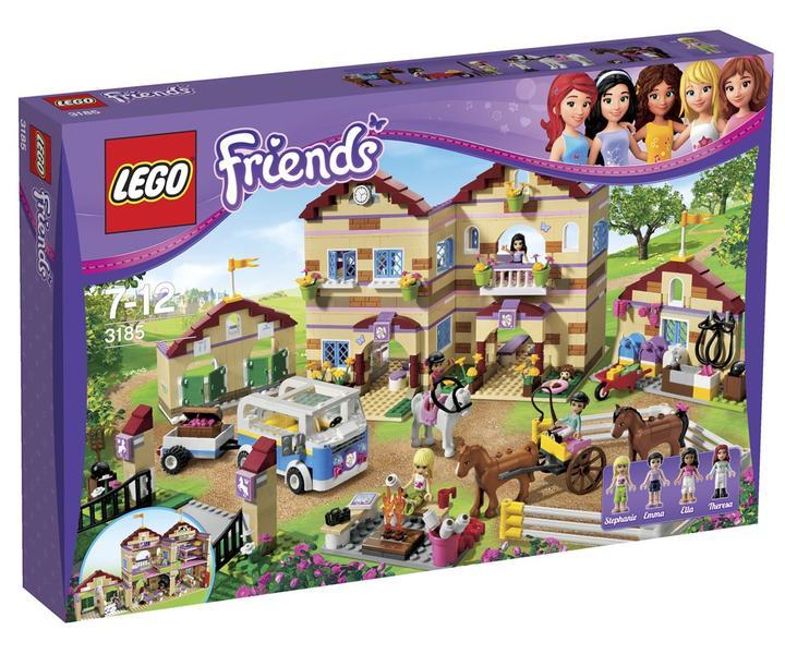 Jämför priser på LEGO Friends 3185 Ridläger - Hitta bästa ...