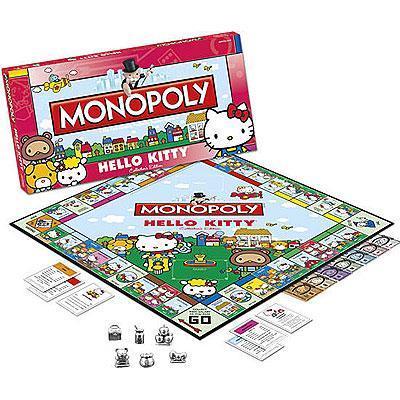 Usaopoly monopol hello kitty