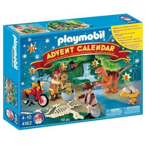 playmobil christmas 4162 advent calendar dinosaur. Black Bedroom Furniture Sets. Home Design Ideas