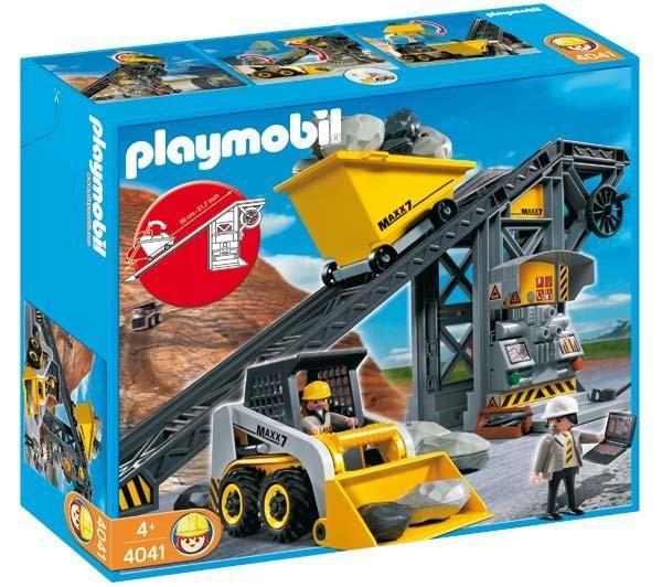 Playmobil Construction 4041 Conveyor Belt With Mini